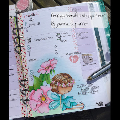 planner+stamping+May+fairy+Slothsunday