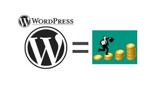 Make money using wordpress
