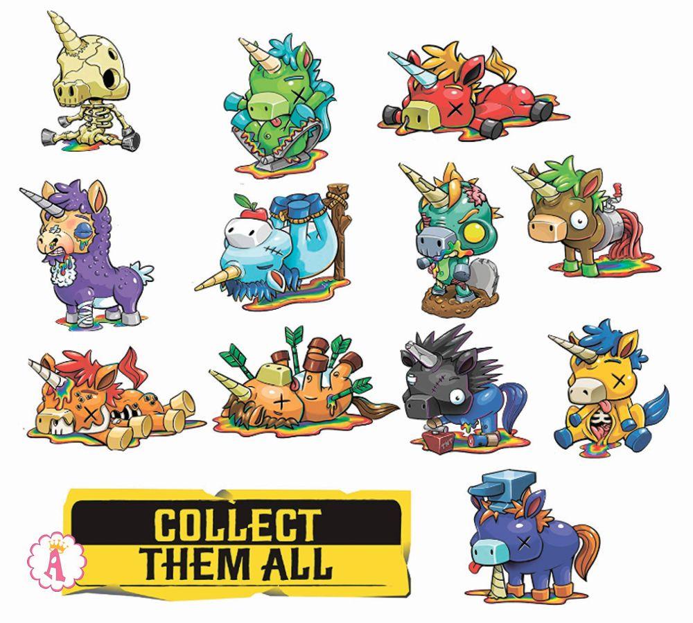 Андед единороги игрушки для мальчиков от создателей Лол Сюрприз Рейнбоус ин писис