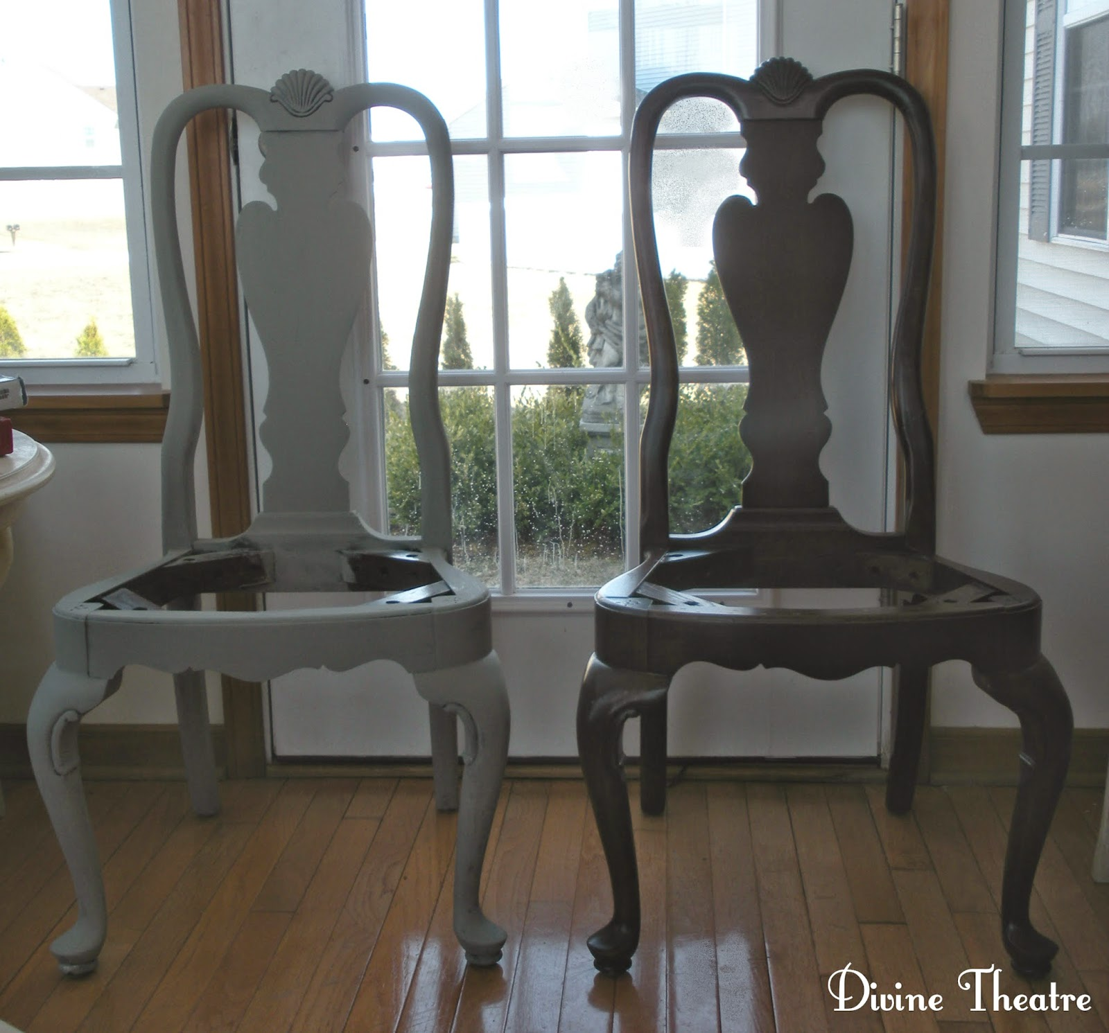 Wonderful Divine Theatre Gustavian Rococo Dining Chairs Before And After Tutorial