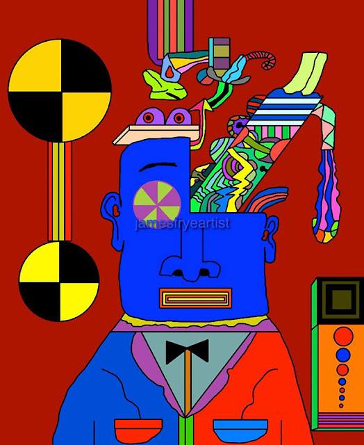 Blue Meanie's Brain - James Frye