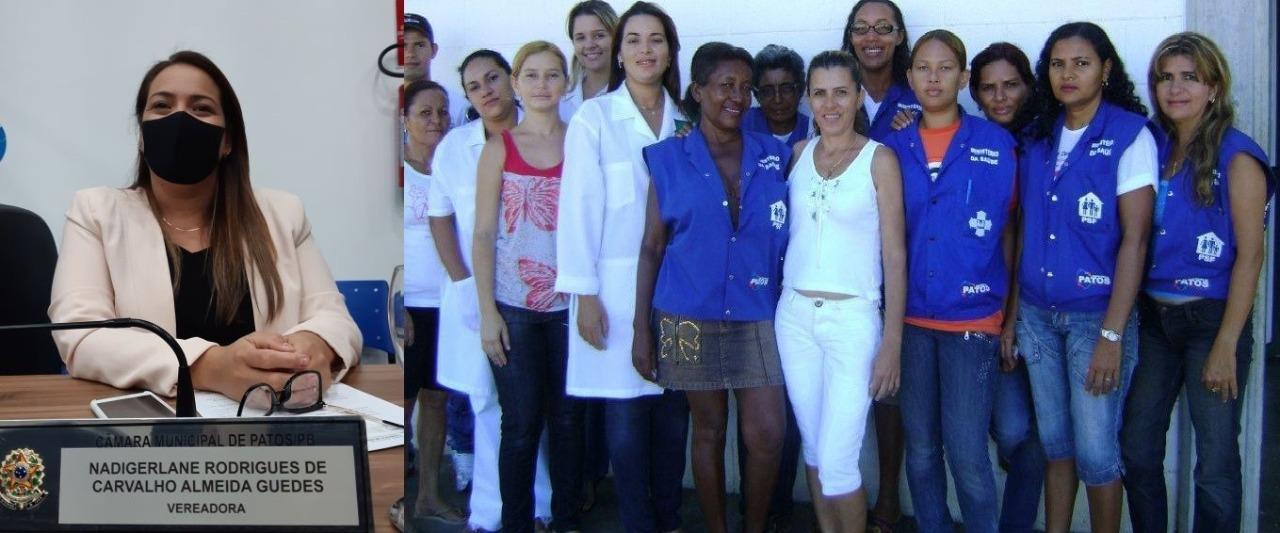 Voto de Aplauso: Câmara de Patos-PB homenageia profissionais no Dia Internacional da Enfermagem