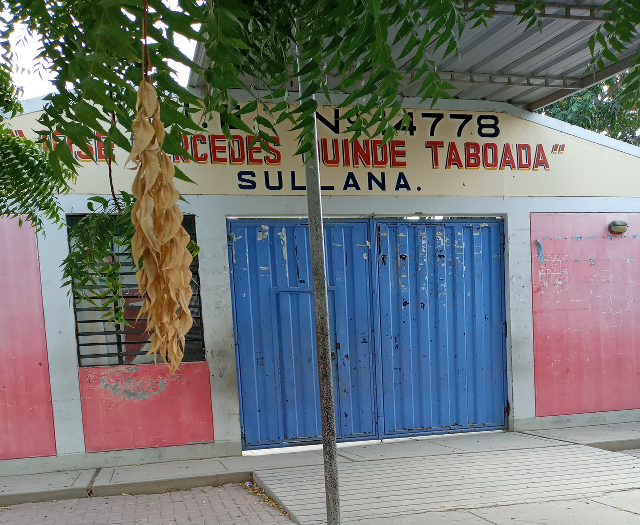 Escuela 14778 JOSE M. QUINDE TABOADA - Sullana