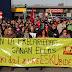 Un centenar de manifestantes convocados por LAB denuncia la precariedad en Megapark