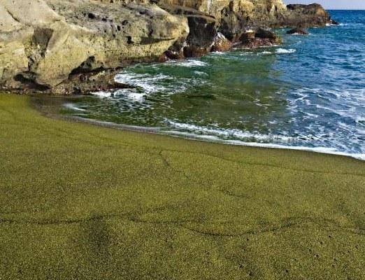 Papakolea: Hawaii's Green Sand Beach