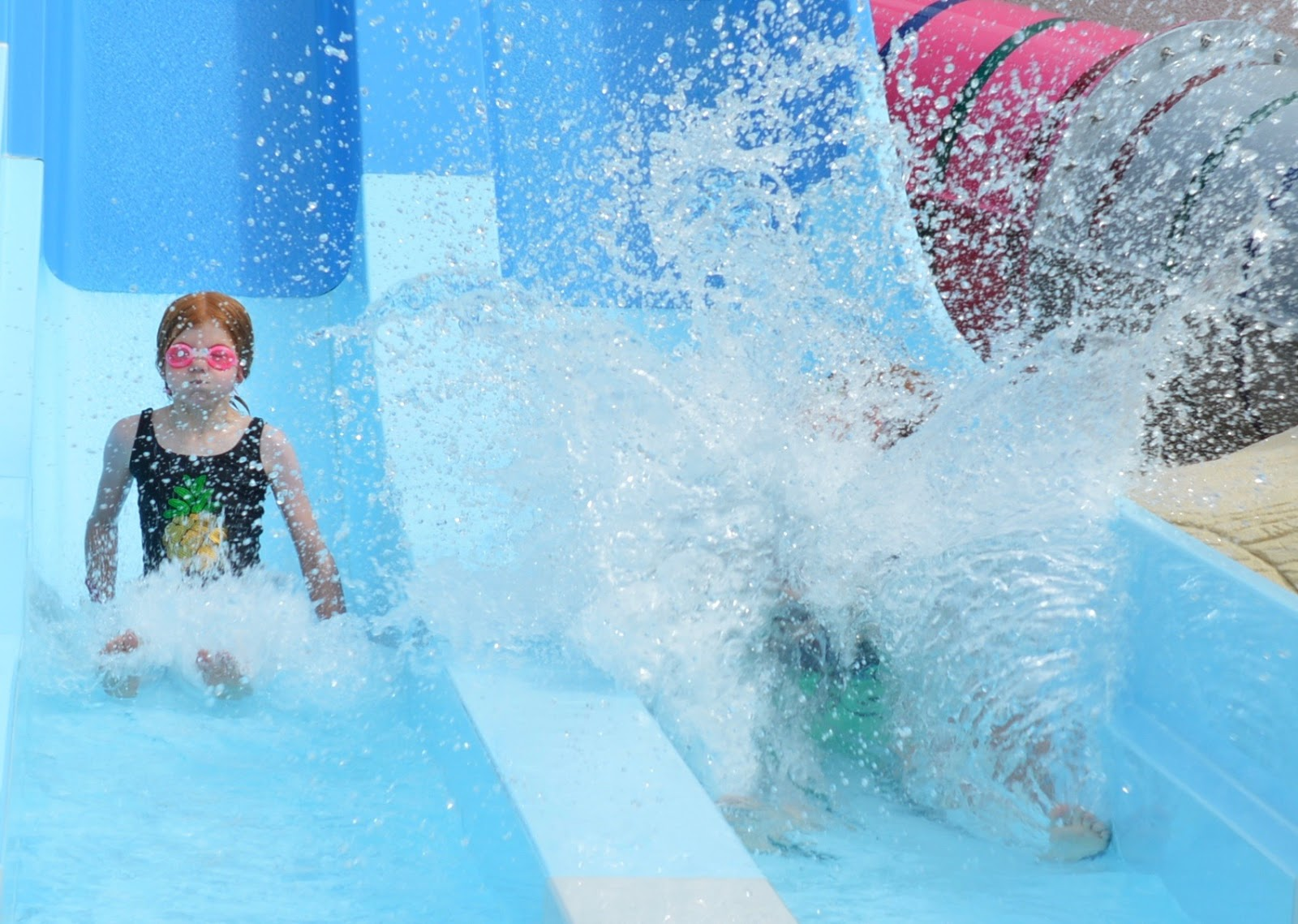 Les Ecureuils Campsite, Vendee - A Eurocamp Site near Puy du Fou (Full Review) - swimming pool slide