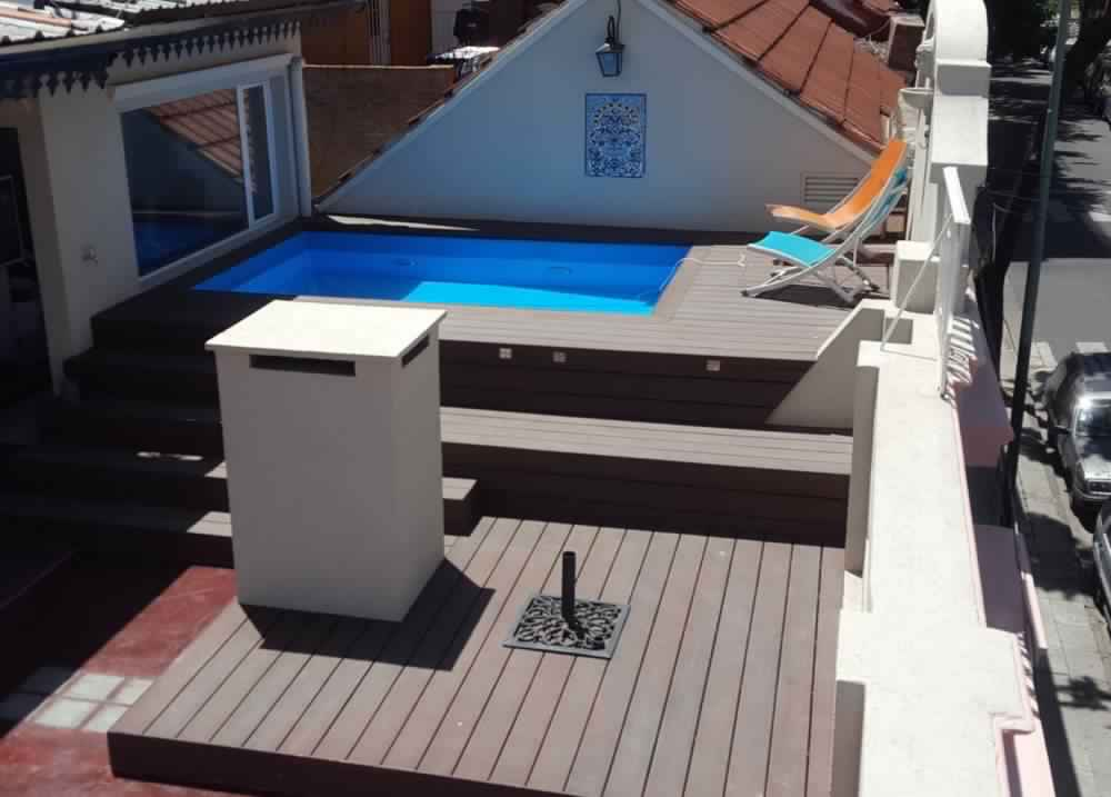Deck Pileta Casa