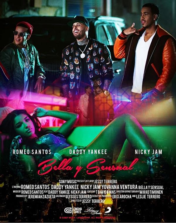 Romeo-Santos-Daddy-Yankee-Nicky-Jam-lanzan-video-Bella-y-Sensual