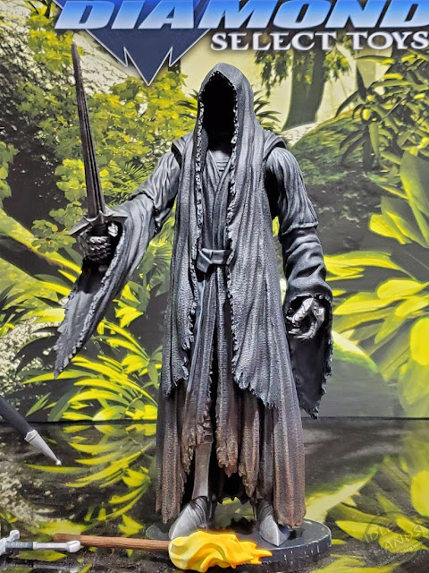 Diamond Select Lord of the Rings Action Figures Ringwraith