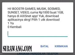 Paket Internet Axis Murah