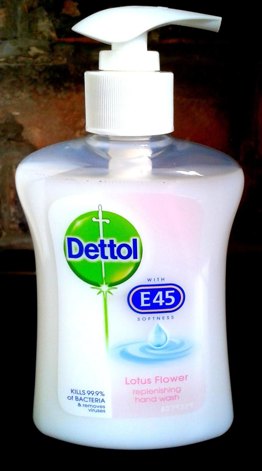 Dettol & E45 Softness Hand Wash, Hand Wash, E45 Handwash, Antibacterial Hand Wash
