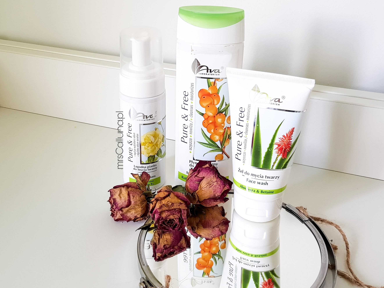Kosmetyki do demakijażu - nowości AVA Pure & Free