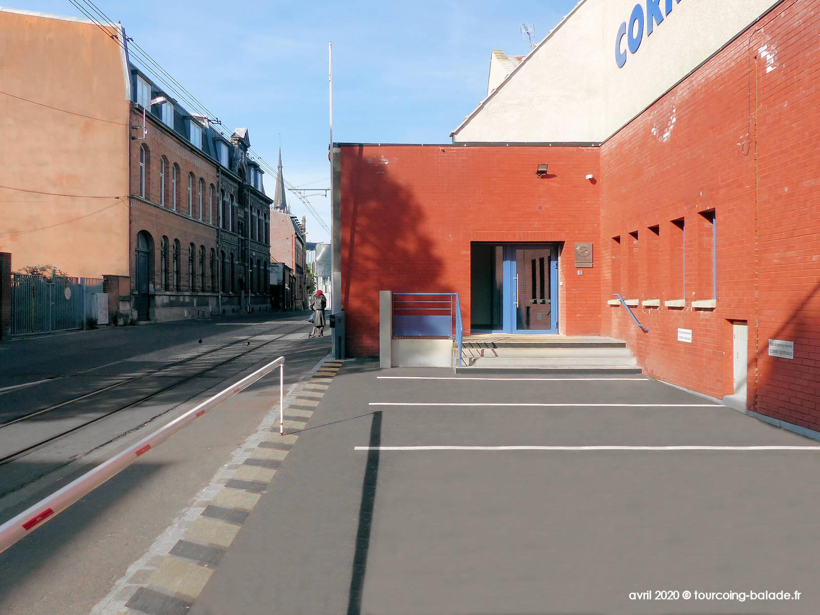 Rue Chanzy, Ateliers Corri-Servais, Tourcoing 2020