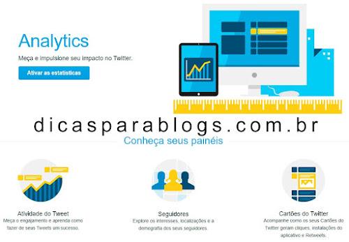 Como usar o Twitter Analytics