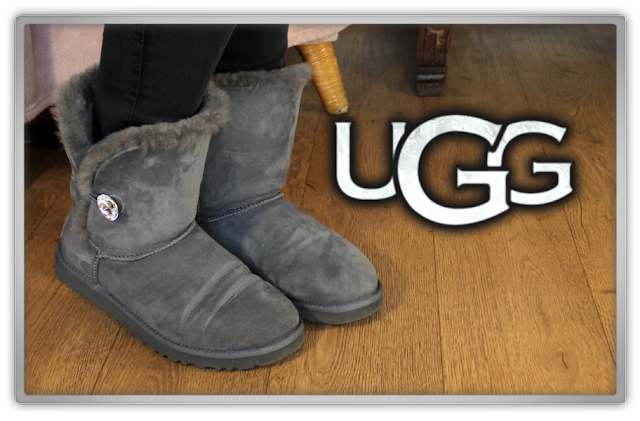 UGG Australia Bailey Button Bling shoes boots fashion winter luxury brand fury beauty blog blogger swarovski