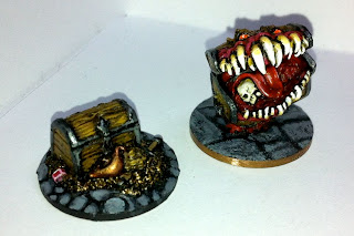 Reaper Bones Treasure Chest and Mimic