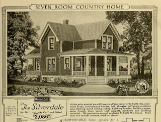 black and white catalog image of Sears Silverdale
