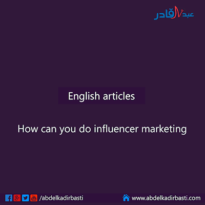 How can you do influencer marketing