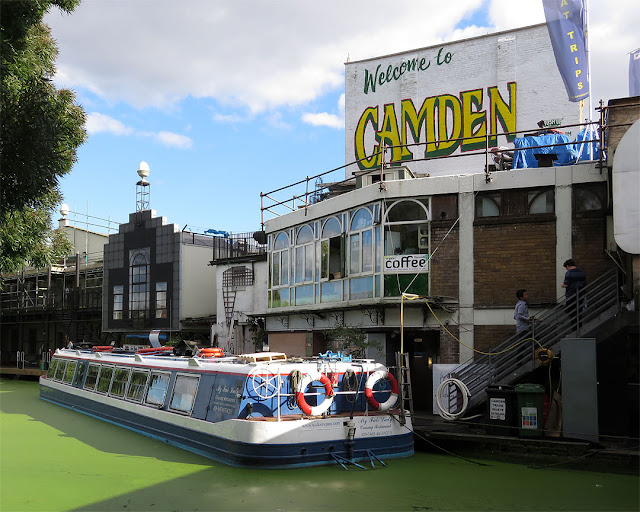 """Welcome to Camden, Regent's Canal, Camden Lock, London"
