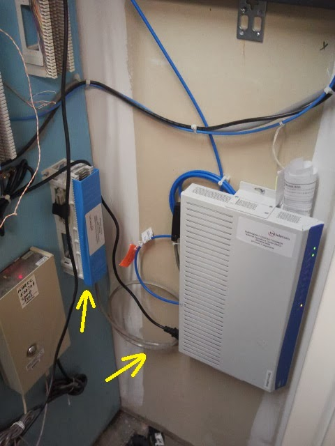 Ethernet Punch Down Block Wiring