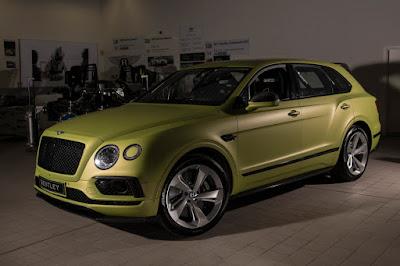 Bentley Bentayga PPIHC 2018 Front Side