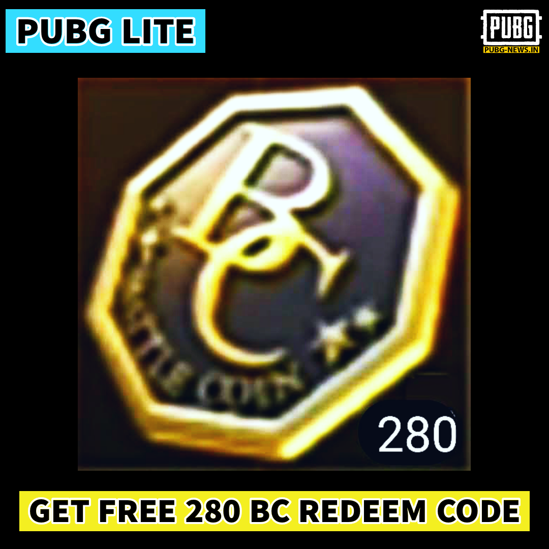 Pubg Lite Bc Redeem Code