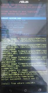 Downgrade Marshmallow ke Lolipop di Asus Zenfone 2 Laser 100% Berhasil