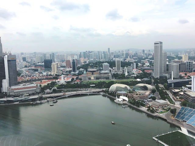 Singapore viewed from Sands Skypark Observation Deck