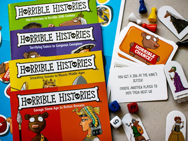 Review and Giveaway: Horrible Histories The Board Game