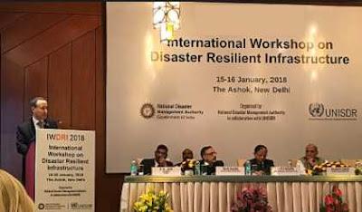 International workshop on Disaster Resilient Infrastructure