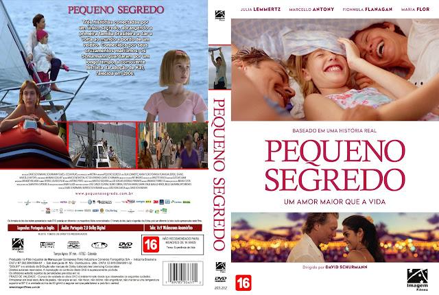 Capa DVD Pequeno Segredo