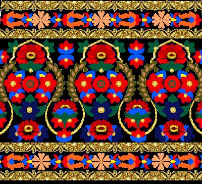Vector-saree-border-textile
