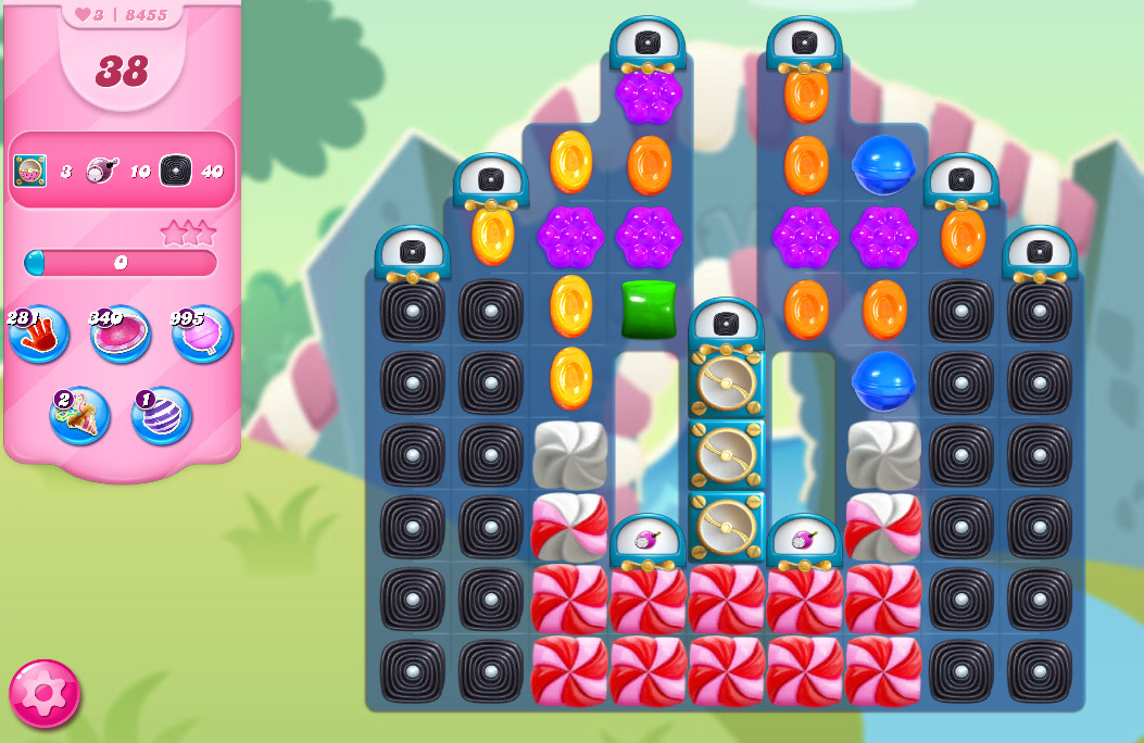 Candy Crush Saga level 8455