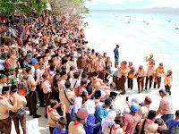 Penutupan Perkemahan Pramuka Madrasah Menghasilkan Deklarasi Cinta Bahari