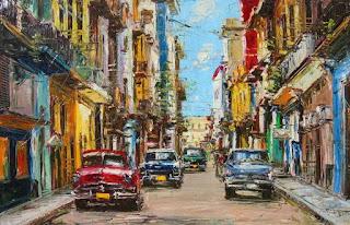 cuadros-carros-y-calles-cubanas