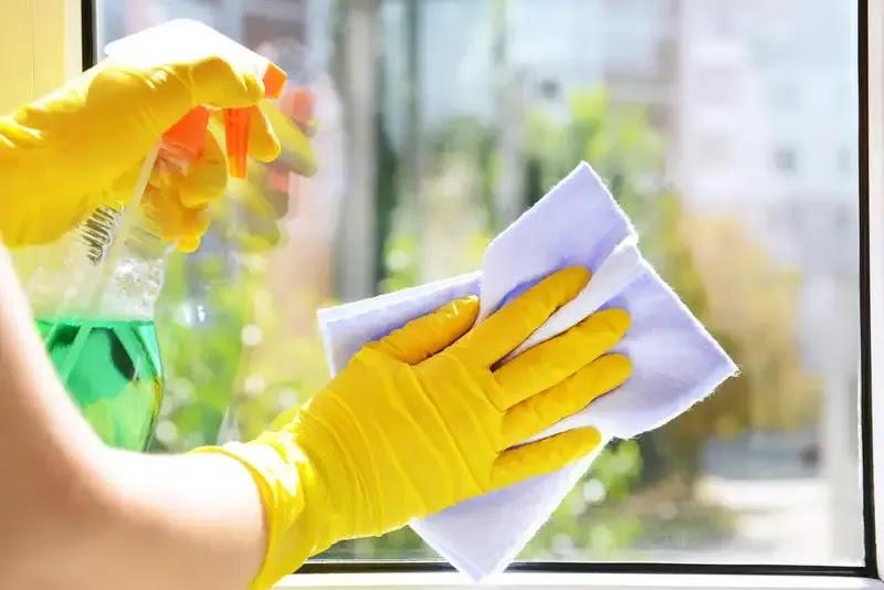 أفضل طريقة لتنظيف النوافذ وفقًا لمختبر التنظيف clean house1