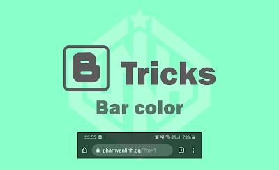 Share Code Đổi Màu Thanh Tab Bar Trên Mobile Cho Blog