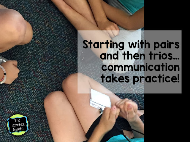 Teaching speaking and listening and accountable talk are so critical!  Read on for more!