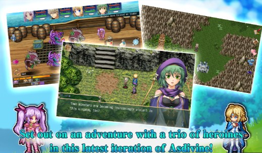 Download Game RPG Asdivine Cross v1.1.0g Mod Apk