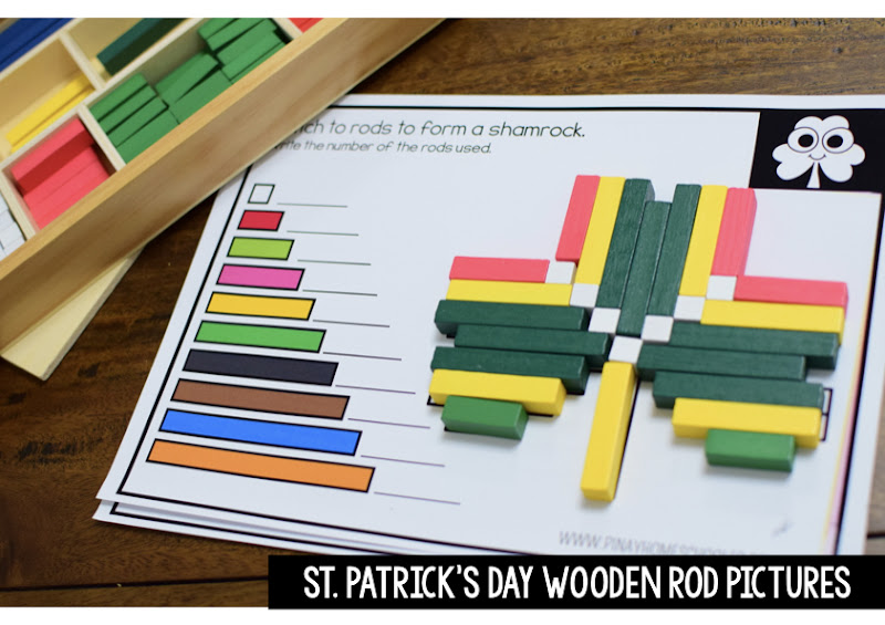 St. Patrick's Day Theme: RODS PICTURE SHEETS