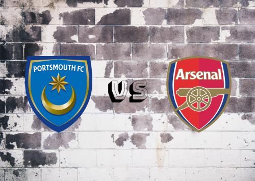 Portsmouth vs Arsenal  Resumen y Partido Completo