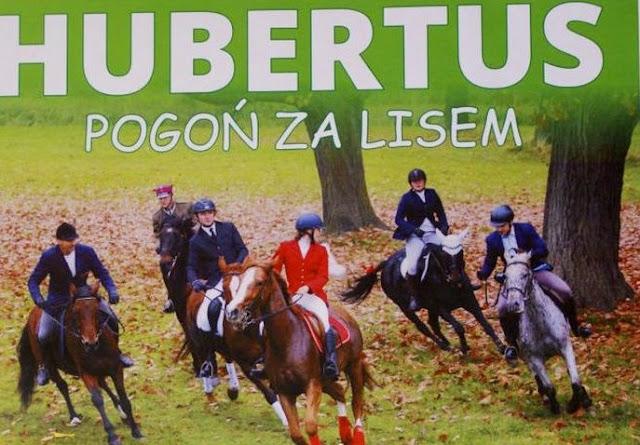 myśliwi na koniach, Hubertus