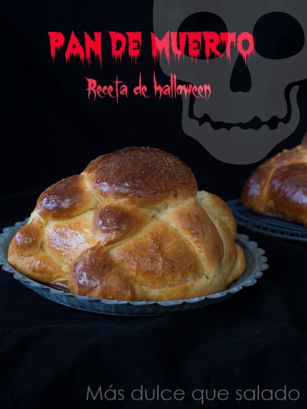 Pan de Muerto. Receta de Halloween