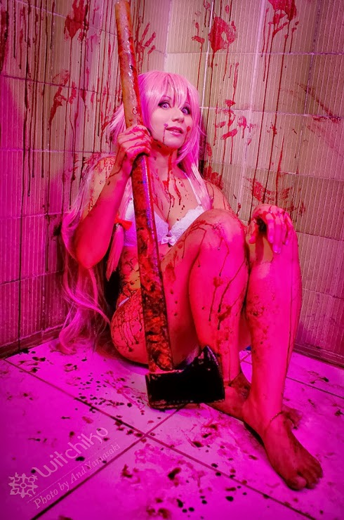 Yuno Gasai Mirai Nikki Cosplay By Witchiko