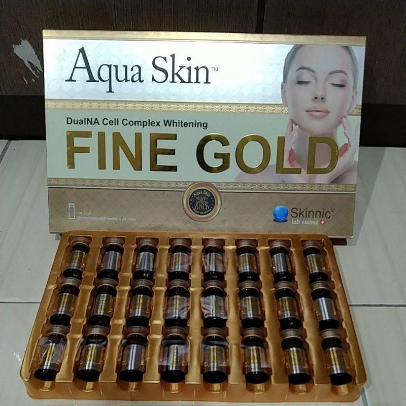 AQUA SKIN FINE GOLD WHITENING