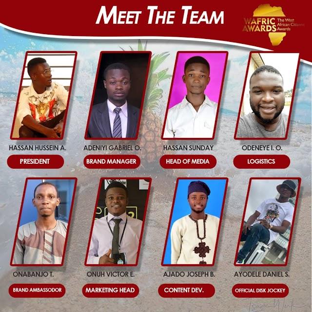 Meet The Wafric Awards Team 2019 And Beyond.