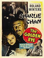 Póster Película Charlie Chan in the Golden Eye