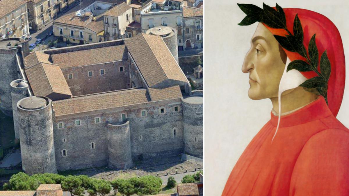 Celebrazioni dantesche Castello Ursino Dante Alighieri