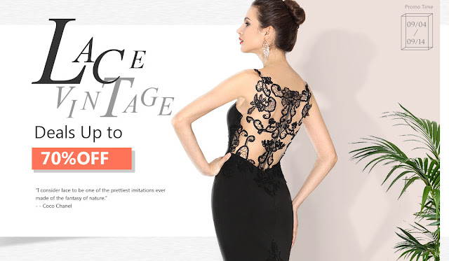vintage lace prom dresses sale