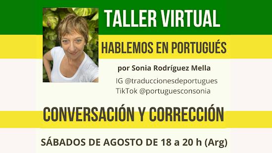 TALLER DE CONVERSACIÓN DE PORTUGUÉS